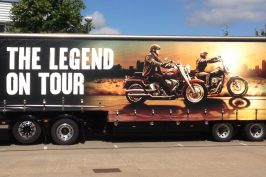 The little coffee van revs up for Harley Davidson