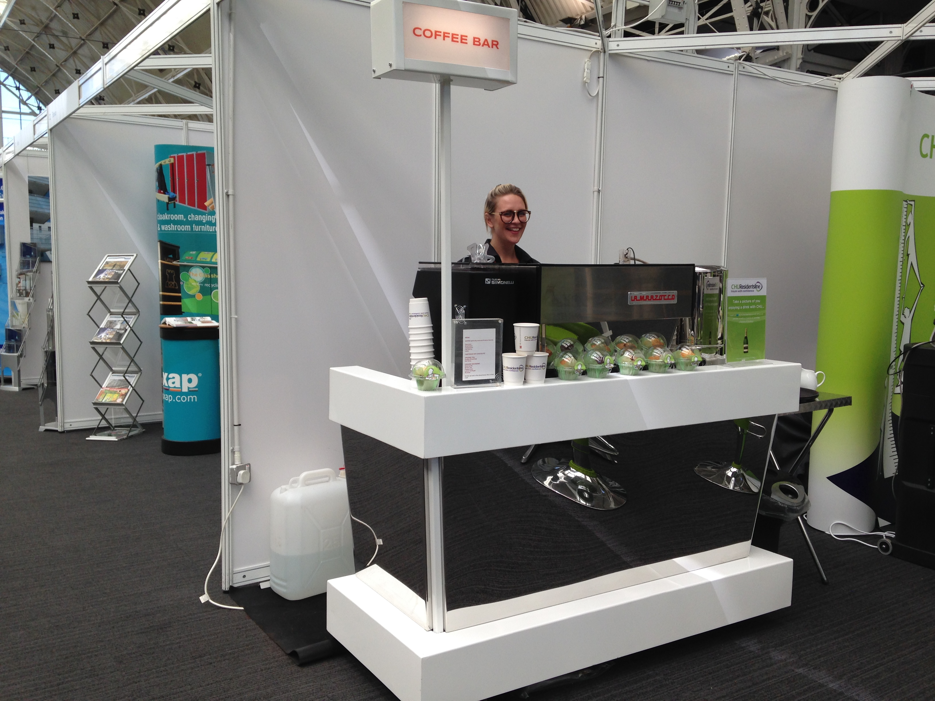 Exhibition Stand Bar : The little coffee van mobile